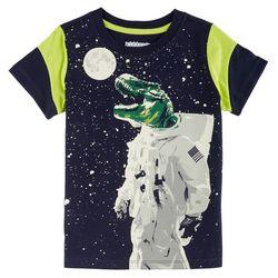 Kidtopia Toddler Boys Space Dino T-Shirt