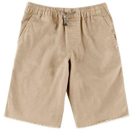 Wrangler Big Boys Drawstring Pull-On Shorts