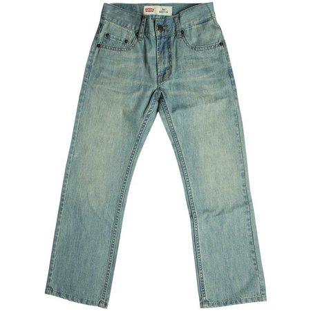 Levi's Big Boys 505 Straight Denim Jeans