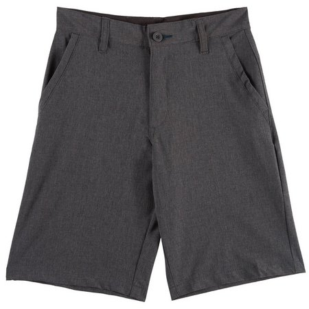Burnside Big Boys Hybrid Solid Shorts