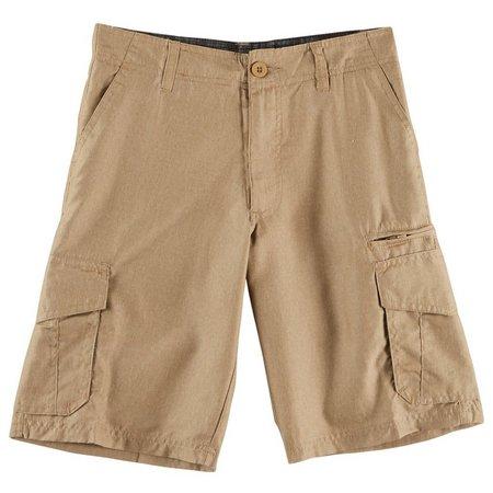 Burnside Big Boys Hybrid Cargo Shorts