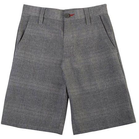 Burnside Big Boys Conquer Striped Shorts