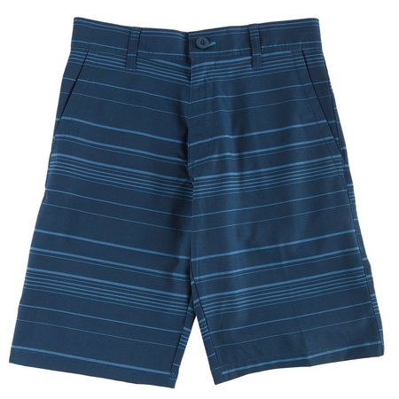 Burnside Big Boys Tonal Stripe Hybrid Shorts