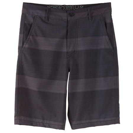 Distortion Big Boys Stripe Shorts