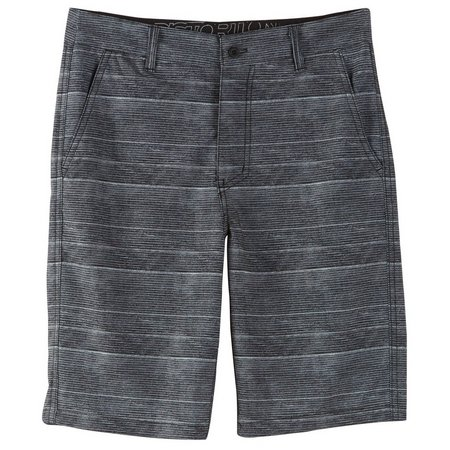 Distortion Big Boys Quick Dry Stripe Shorts