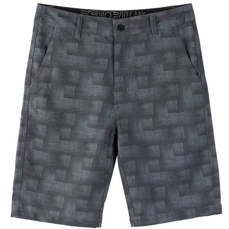 Distortion Big Boys Block Hybrid Shorts
