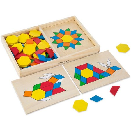 Melissa & Doug Pattern Blocks & Boards