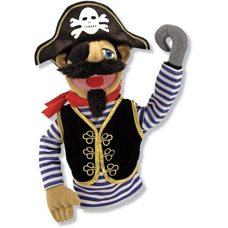 Melissa & Doug Barnacle Bart Pirate Puppet