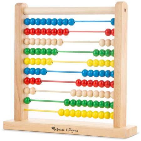 Melissa & Doug Classic Wooden Abacus Toy