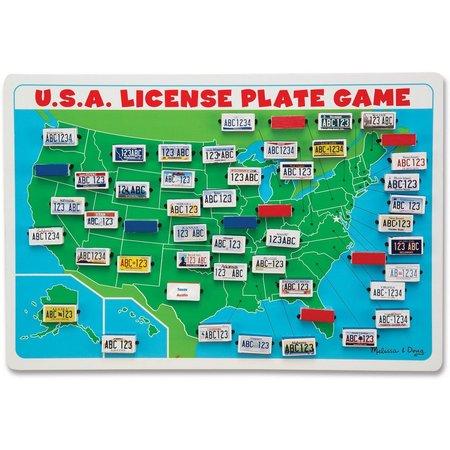 Melissa & Doug USA License Plate Game
