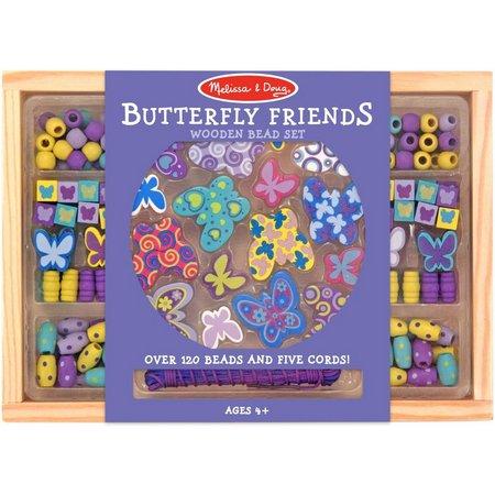 Melissa & Doug Butterfly Friends Bead Set