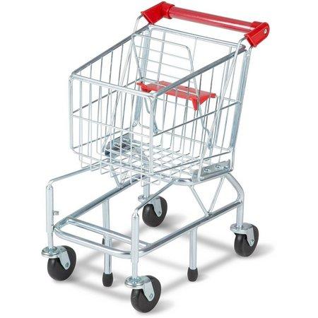 Melissa & Doug Metal Shopping Cart Toy