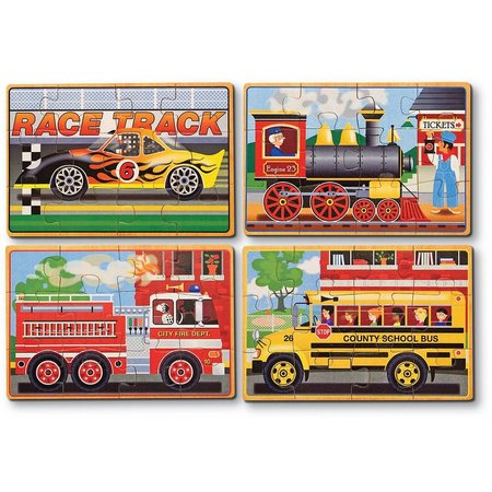 Melissa & Doug 48-pc. Vehicles Jigsaw Puzzle Box