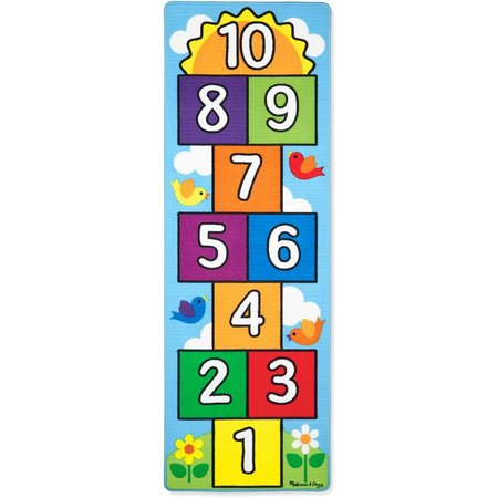 Melissa & Doug Hop & Count Hopscotch Play
