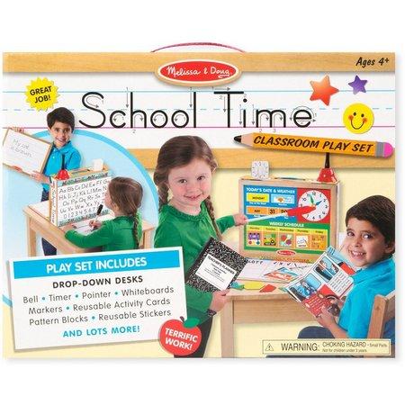 Melissa & Doug School Time Classroom Play Set