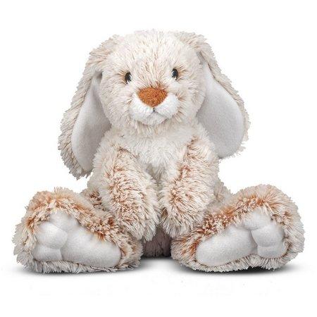 Melissa & Doug Burrow Bunny Rabbit Plush Toy