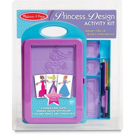 Melissa & Doug Princess Fashion Design Kit