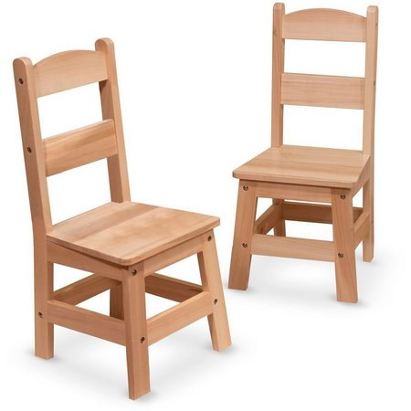 Melissa & Doug Wooden Chair Set