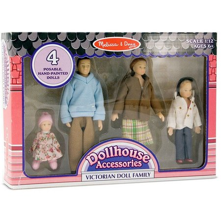 Melissa & Doug 4-pc. Victorian Doll Family