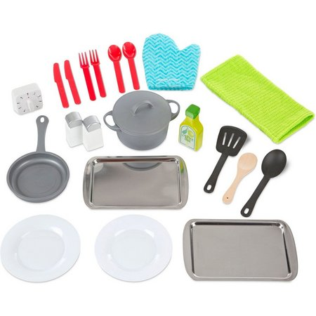 Melissa & Doug 22-pc. Kitchen Accessory Play Set