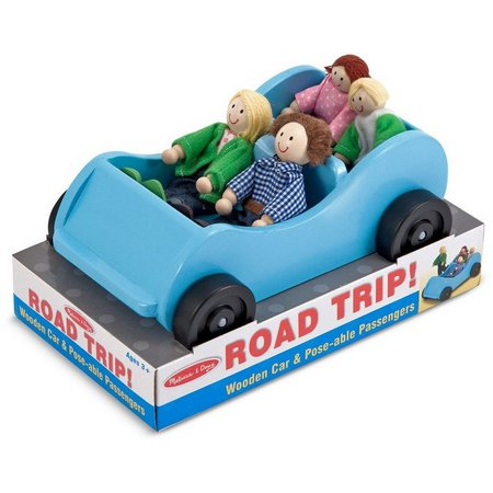 Melissa & Doug Road Trip Wooden Car &
