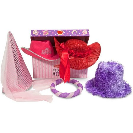 Melissa & Doug 5-pk. Terrific Topper Dress-Up Hats
