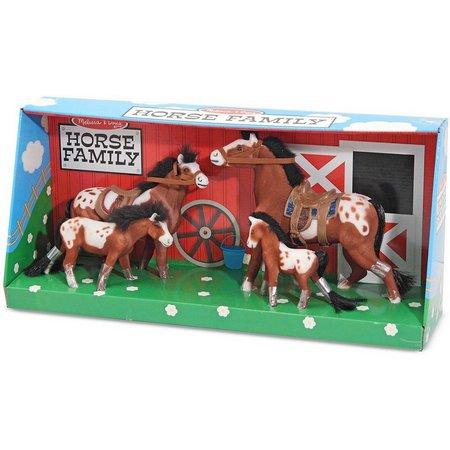 Melissa & Doug Collectible Horse Family Play Set