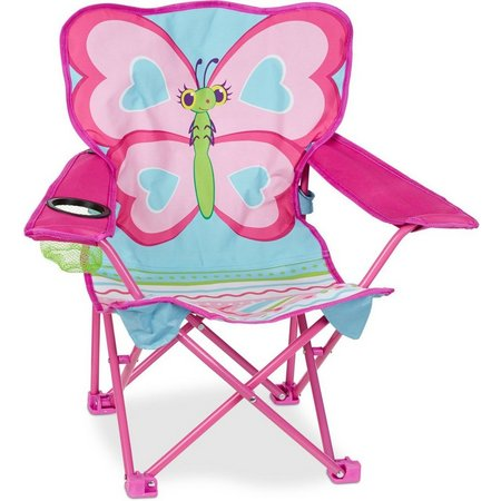 Melissa & Doug Cutie Pie Butterfly Outdoor Chair