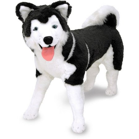 Melissa & Doug Giant Stuffed Husky