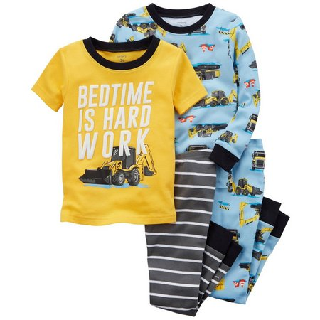 Carters Toddler Boys 4-pc. Bedtime Is Hard Work
