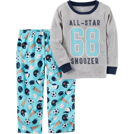 Carters Little Boys All-Star Snoozer Pajama Set