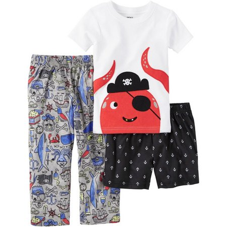Carters Toddler Boys 3-pc. Octopus Pajama Set