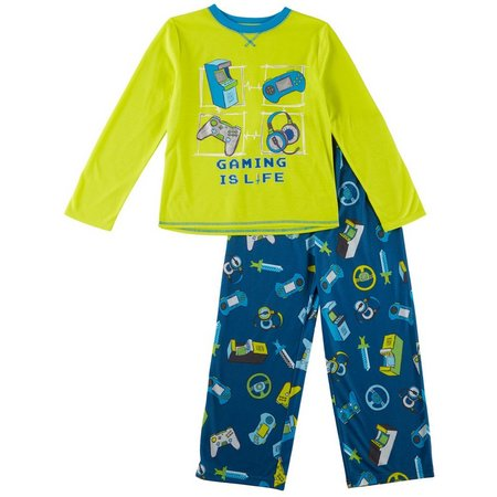 Komar Kids Big Boys Gaming Is Life Pajama