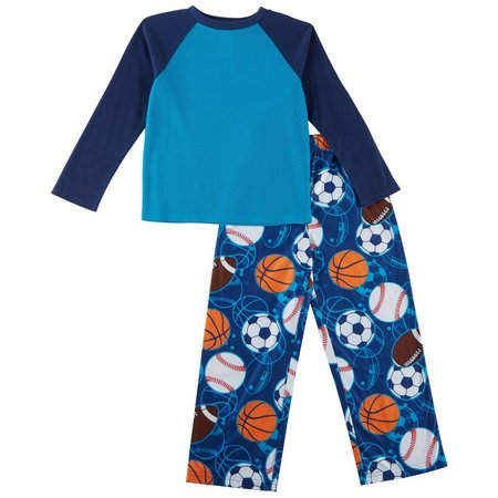 Komar Kids Big Boys Sports Pajama Set