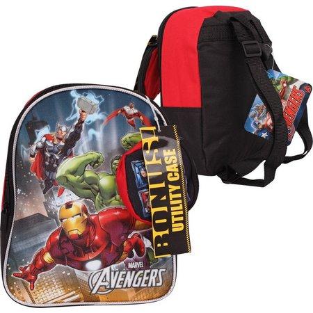 Marvel Avengers Backpack & Utility Case Set