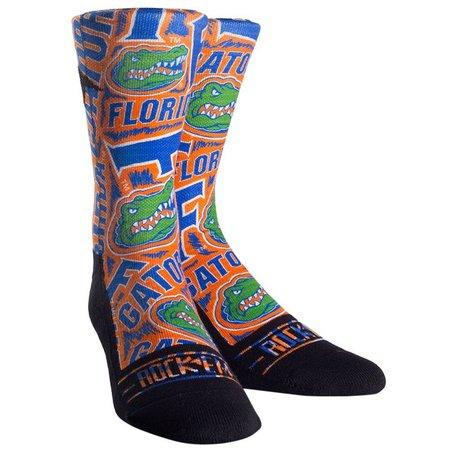 Florida Gators Boys Logo Sketch Socks By Rock'Em