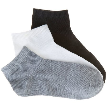 Power Club Little Boys 3-pk. Multi Ankle Socks