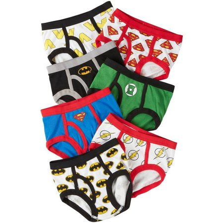 Justice League Toddler Boys 7-pk. Brief Underwear