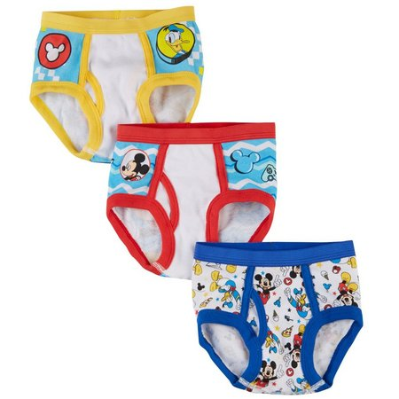 Disney Junior Roadster Toddler Boys 3-pk. Briefs