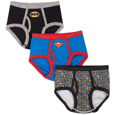 Justice League Little Boys 3-pk. Briefs
