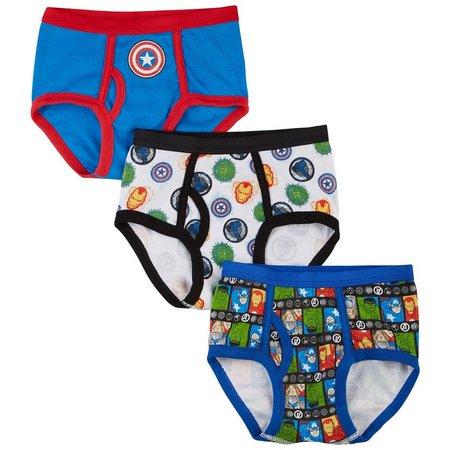 Marvel Avengers Little Boys 3-pk. Briefs
