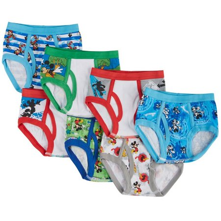 Disney Mickey Mouse Toddler Boys 7-pk. Briefs