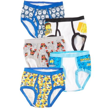 LEGO Movie Little Boys 5-pk. Awesome Briefs