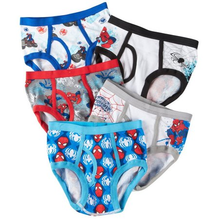 Marvel Spider-Man Boys 5-pk. Brief Underwear