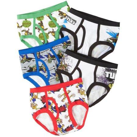 Ninja Turtles Boys 5-pk. Briefs Underwear