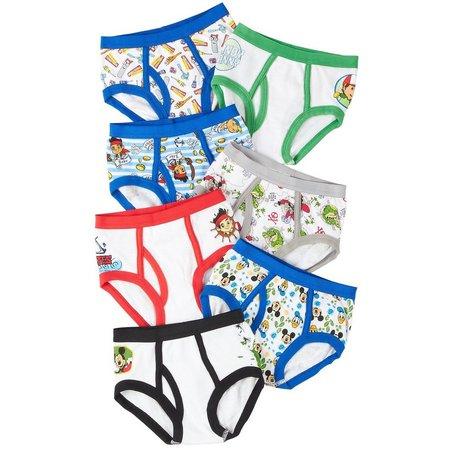 Disney Junior Toddler Boys 7-pk. Brief Underwear