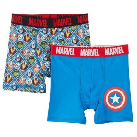 Marvel Avengers Big Boys 2-pk. Boxer Briefs