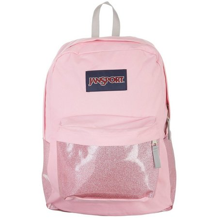 JanSport High Stakes Pink Prism Backpack