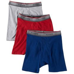 Hanes Boys 3-pk. Platinum Boxer Briefs