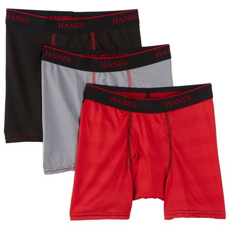 Hanes Boys 3-pk. X-Temp Lightweight Briefs
